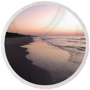 Sunrise On Hilton Head Island Round Beach Towel