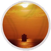 Sunset - 36 Round Beach Towel