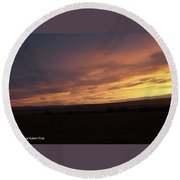 Sunset - 50 Round Beach Towel