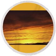 Sunset - 52 Round Beach Towel