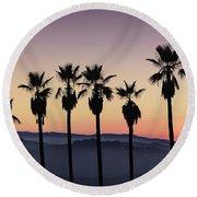 Sunset By La Round Beach Towel