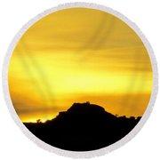 Sunset Cabo 2 Round Beach Towel