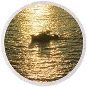 Sunset Cabo 5 Round Beach Towel