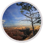 Sunset Colours Bryce Canyon 3 Round Beach Towel