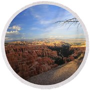Sunset Colours Bryce Canyon 4 Round Beach Towel