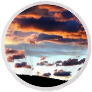 Sunset Supreme Round Beach Towel