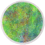 Super Star Clusters Universe #542 Round Beach Towel