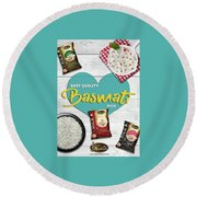 Superior Quality Basmati Rice Importers In New Zealand - Kashish Food Round Beach Towel