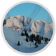 Superior Sunrise Round Beach Towel by Michael Cuozzo