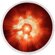 Supernova 2 Round Beach Towel