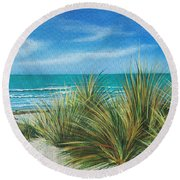 Surf Beach Round Beach Towel