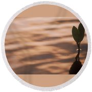 Surfacing Mangrove Round Beach Towel