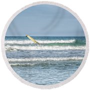 Surfboard Round Beach Towel