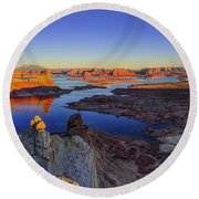 Surreal Alstrom Round Beach Towel