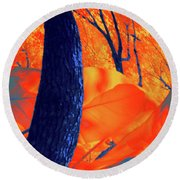 Surrounded 10 Round Beach Towel