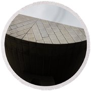 Suspended Semi-circle Round Beach Towel