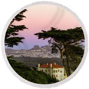 Sutro Heights Park View Round Beach Towel