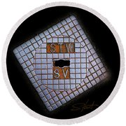 SV Round Beach Towel