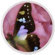 Swallowtail Dreams Round Beach Towel