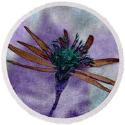 Swampflower Round Beach Towel