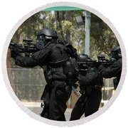 Swat Round Beach Towel