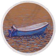Swedish Boat Round Beach Towel