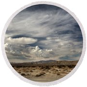 Sweeping Round Beach Towel by Laurie Search