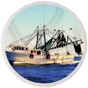 Sweet Carolina Round Beach Towel