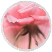 Sweet Lonesome Rose Round Beach Towel