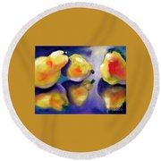 Sweet Reflection Round Beach Towel