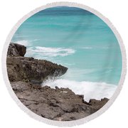 Sweet Saltyness Round Beach Towel
