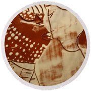 Sweethearts 17 - Tile Round Beach Towel