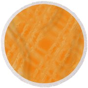 Sweetly Industrious Round Beach Towel