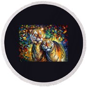 Sweetness Round Beach Towel