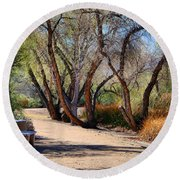 Sweetwater 6 Round Beach Towel