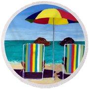 Swim Round Beach Towel