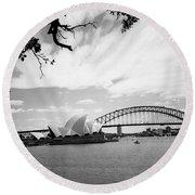 Sydney Harbour Round Beach Towel