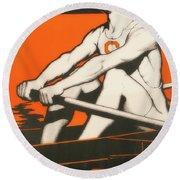 Syracuse University Crewman Round Beach Towel