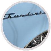 T Bird Round Beach Towel