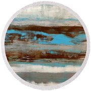 Tahlequah  Round Beach Towel
