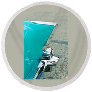 Tail Fin Round Beach Towel