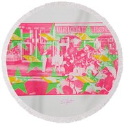 Take Five 4 Round Beach Towel