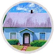 Tales To Tell Round Beach Towel