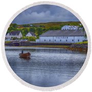 Talisker  Isle Of Skye Round Beach Towel
