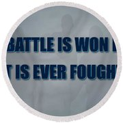 Tampa Bay Rays Battle Round Beach Towel
