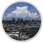 Tampa Round Beach Towel