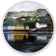 Tarbert Reflections Round Beach Towel