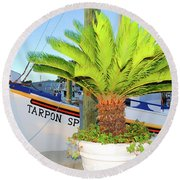Tarpon                 Tarpon Palm                                     Round Beach Towel