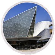 Taubman Museum Of Art Roanoke Virginia Round Beach Towel