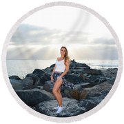 Taylor 020 Round Beach Towel